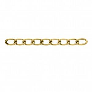 Corrente Ouro 11,7mm de Espessura com Elo de 20mm