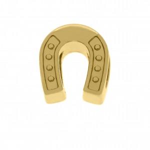 Berloque Ferradura Ouro 10mm