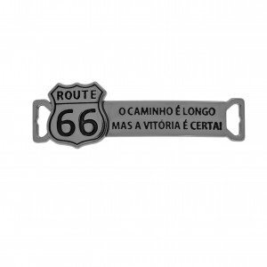 Bridão Route 66 Grafite Escovado 44mm