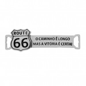 Bridão Route 66 Níquel 44mm