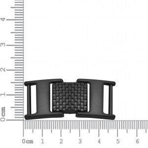 Bridão Articulado Preto Oxidado 43mm