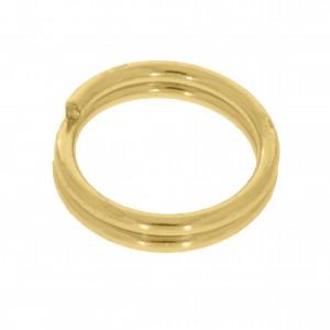 Mola de Montagem Redonda Ouro 4,5mm
