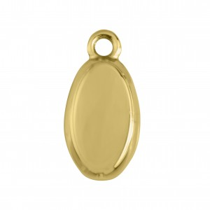 Pingente Oval Ouro