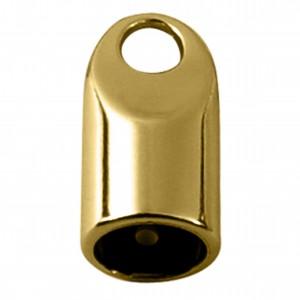 Ponteira Redonda Ouro 29mm