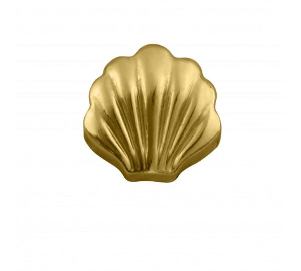 Berloque Concha Ouro 12mm