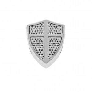 Berloque Escudo Níquel 12mm