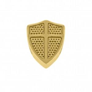 Berloque Escudo Ouro 12mm
