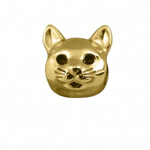 Berloque Gato Ouro 12mm