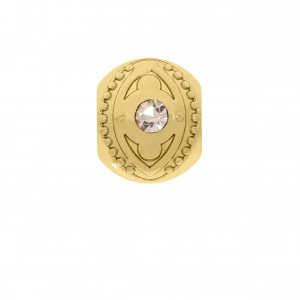 Berloque Redondo Ouro 12mm