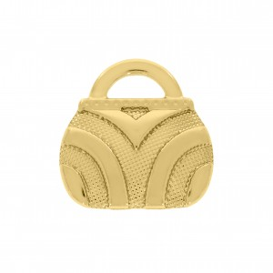 Pingente Ouro Bolsa 16mm
