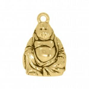 Pingente Ouro Buda 23mm