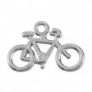 Pingente Níquel Bicicleta 21mm