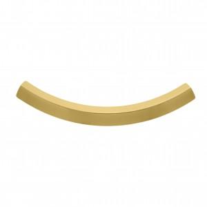 Tubo Quadrado Ouro 50mm