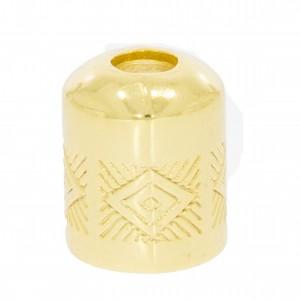 Ponteira Redonda Ouro 10mm