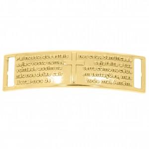 Bridão Pai Nosso Ouro 52mm