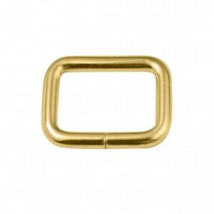 Argola para Bolsa Quadrada Ouro 28mm
