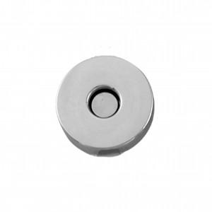Botão Redondo Níquel com Imã 20mm para Bolsa