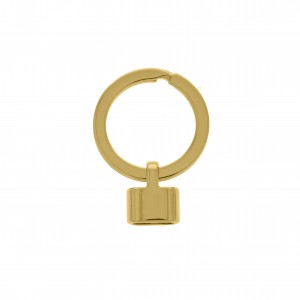 Argola de Chaveiro Ouro 38mm