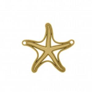 Pingente Ouro Estrela do Mar 45mm