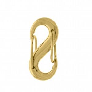 Mosquetão Ouro 32mm