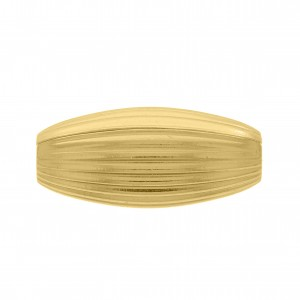 Passador Oval Ouro 32mm