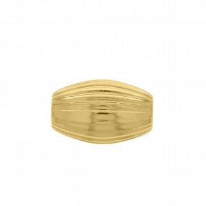 Passador Oval Ouro 20mm