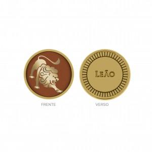 Passador Redondo Ouro Leão 16mm