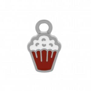 Pingente Níquel Cupcake 13mm
