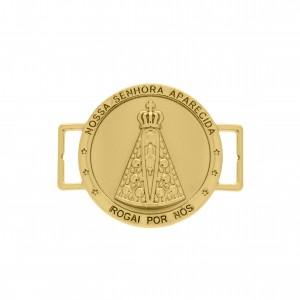 Passador Ouro Nossa Senhora Aparecida 38mm