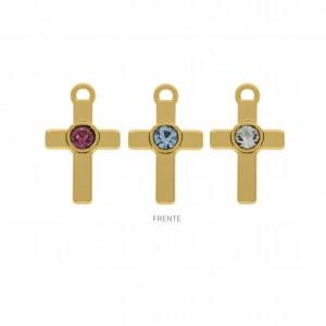 Conjunto Ouro Cruz