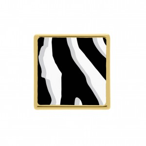 Passador Animal Print Zebra 26mm