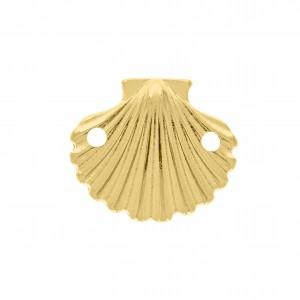 Pingente Ouro Concha 17mm
