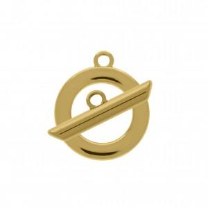 Fechamento Passador Ouro 24mm