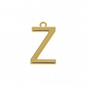 Pingente Ouro Letra Z 28mm