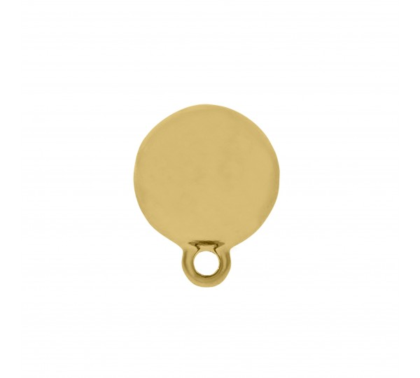 Base para Brinco Ouro 15mm