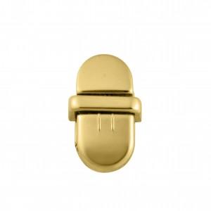 Fechamento Oval Ouro 27mm para Bolsa