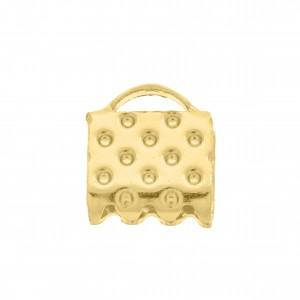 Ponteira Mordedor Ouro 7mm
