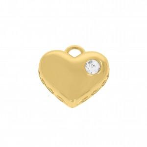 Pingente Ouro Coração 20mm