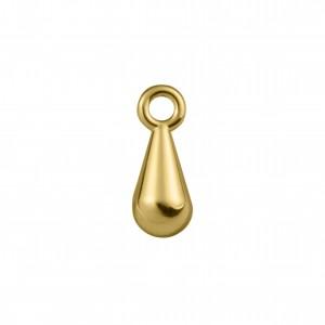 Pingente Ouro Gota 14mm