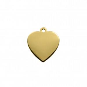 Pingente Ouro Coração 27mm