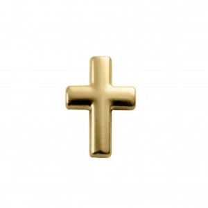Pingente Ouro Cruz 18mm