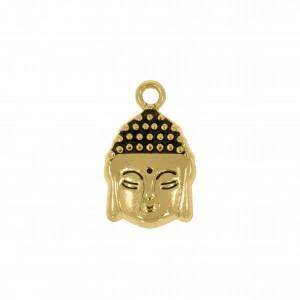 Pingente Ouro Buda 17mm