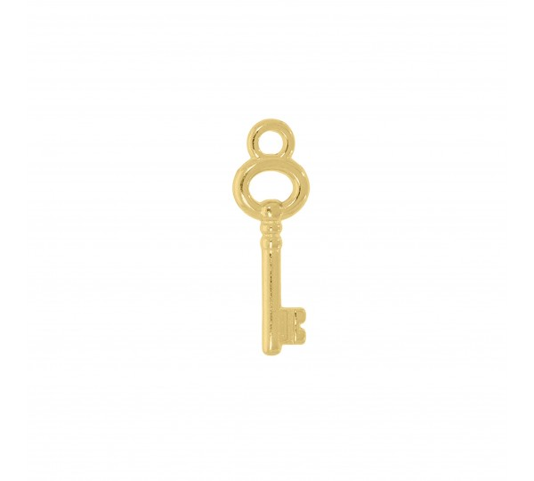 Pingente Ouro Chave 20mm