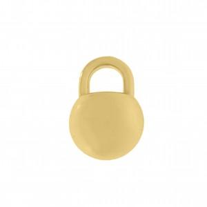 Pingente Ouro Bolinha 10mm