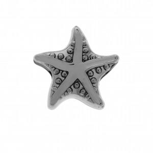 Berloque Estrela do Mar Grafite 12mm