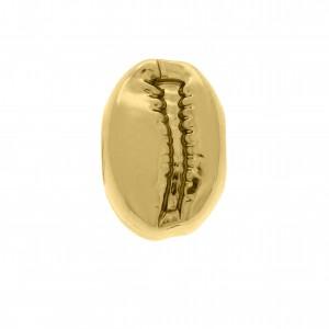 Berloque Búzio Ouro 12mm