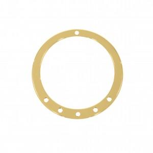 Base para Brinco Redonda Ouro 45mm