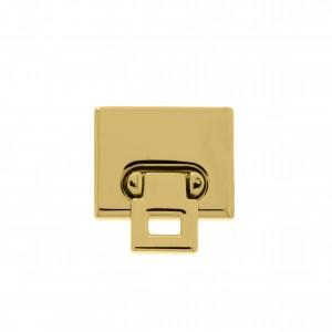 Fecho Torniquete Ouro 27mm