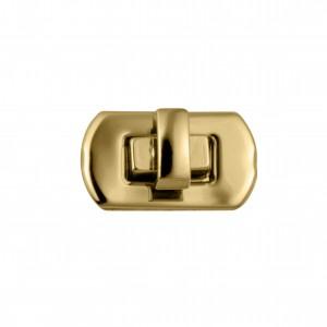 Fecho Retangular Ouro 27mm para Bolsa