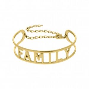 Base para Pulseira Family Ouro 65mm
